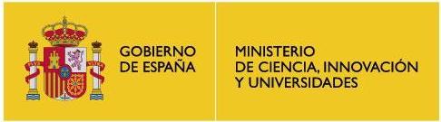 Ministerio de Ciencia Innovación y Universidades